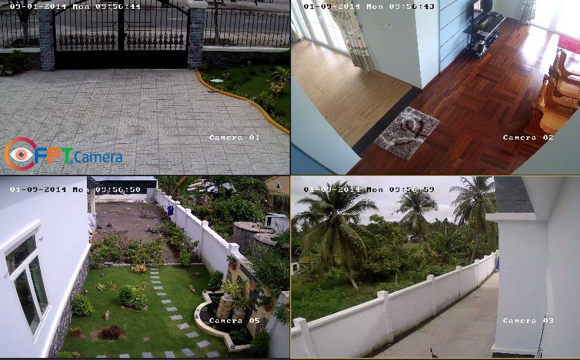Hình ảnh từ Camera quan sát độ phân giải 720P - HD