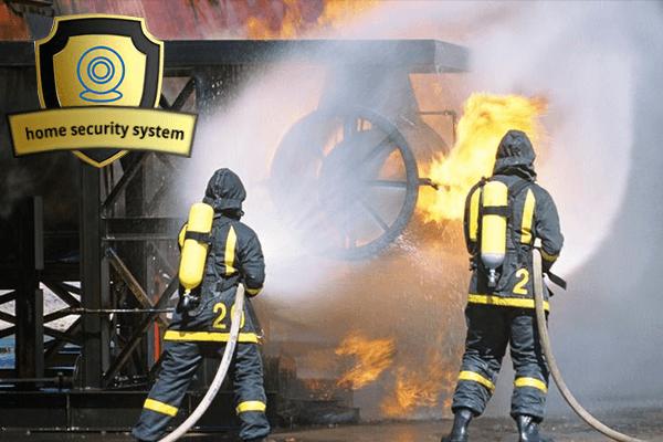 Sử dụng Camera An Ninh phòng chống cháy nổ