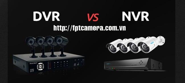 NVR, DVR và HVR là gì?