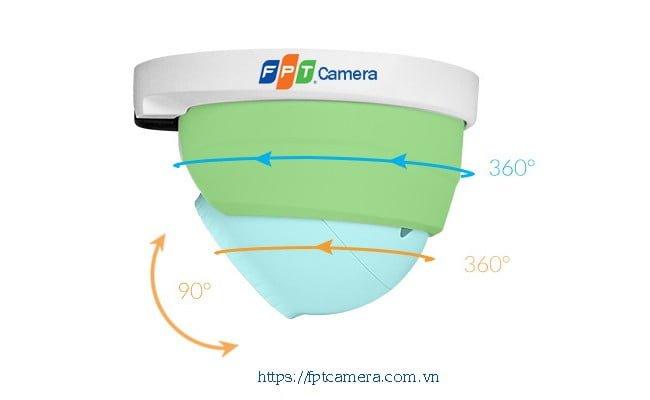 Camera an ninh trong nhà thường có dạng hình VÒM - Dome