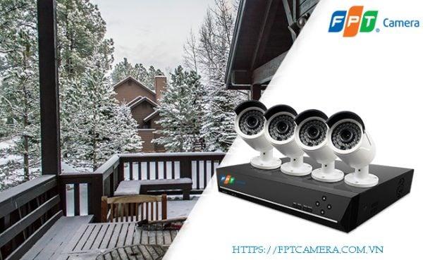 Camera Etherner FPT - IP PoE chất lượng đảm bảo, dễ dàng cài đặt