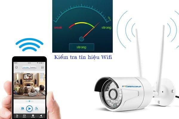 Kiểm tra toàn bộ tín hiệu Wifi trong nhà - Để kêt nối Smart home ổn định.