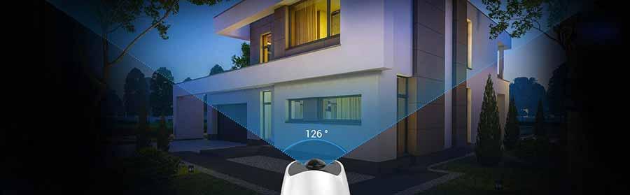 Camera anh ninh âm thanh 2 chiều Ezviz C3A sử dụng PIN 3 tháng. Hình ảnh sắc nét, không lo hết PIN