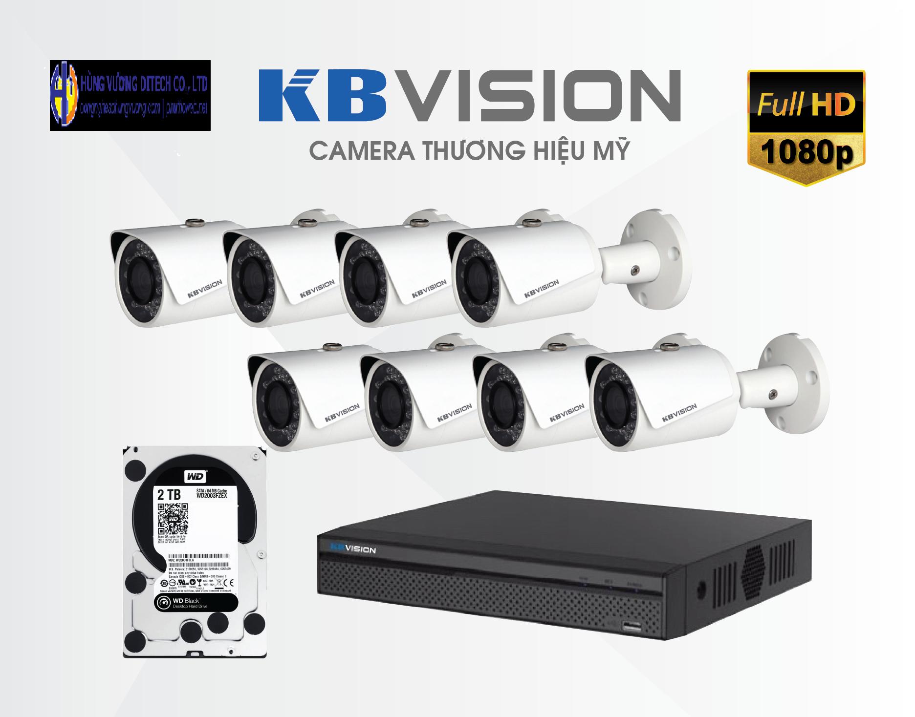 Trọn bộ Camera có dây, kết nối ổn định và liên tục, giúp bạn quan sát người cao tuổi một cách tốt nhất có thể