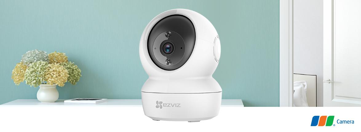 Camera anh ninh âm thanh 2 chiều Ezviz C6N trong nhà giá rẻ - Full HD