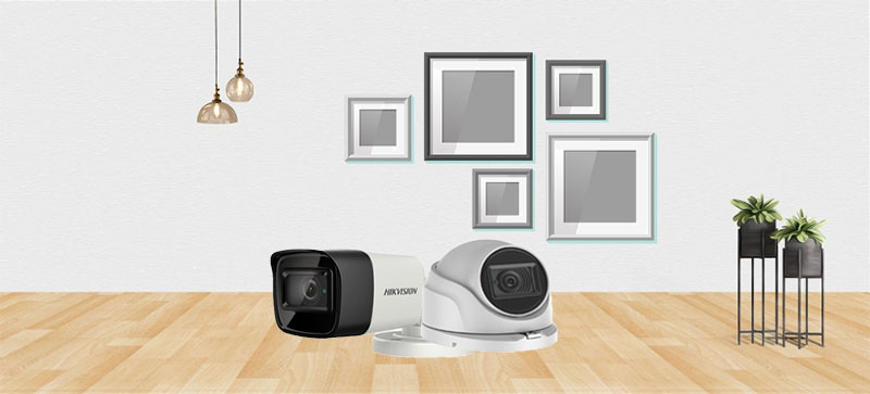 Cận cảnh Camera Analog 8.0Megapixel-4K lắp đặt trong nhà và Camera Analog 8.0Megapixel-4K lắp đặt ngoài trời