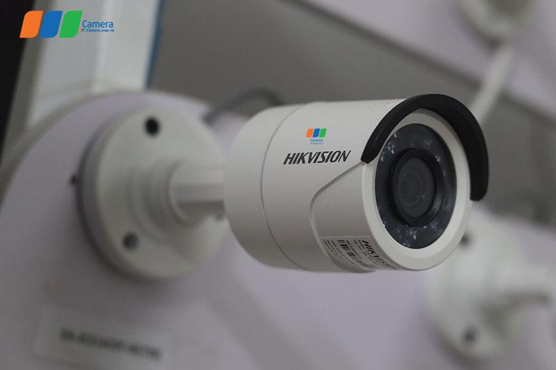 Camera Hikvision 2MP lắp đặt ngoài trời