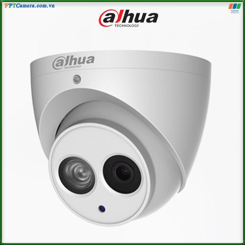 Camera trong nhà Dahua tích hợp Míc thu âm thanh. Kiểu dáng sang trọng, hồng ngoài siêu NÉT