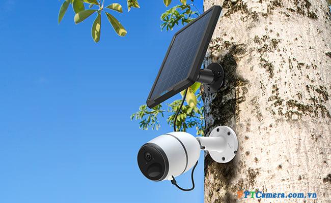 Hình ảnh thực tế triển khai lắp đặt camera quan sát di động tại FPTC