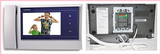 COMMAX CDV-70K là thiết bị gọn nhé với nhiều tính năng độc đáo