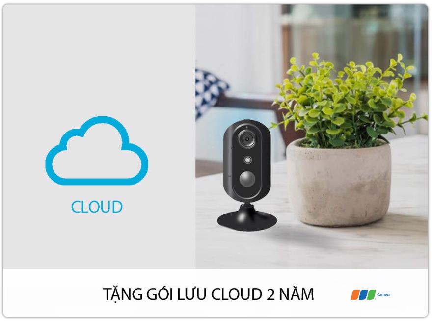 Camera 4G/Wifi SmartZ IS05-4G tặng gói lưu trữ Cloud 2 năm