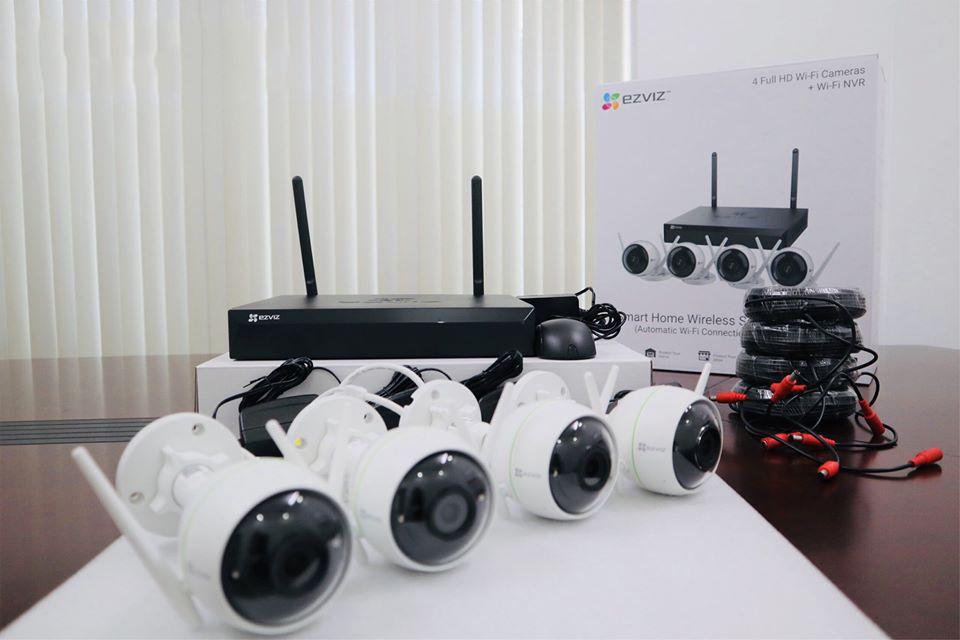 Bộ camera Wifi không dây, sẽ thực sự hữu dụng và giúp bạn kết nối các thiết bị nhanh chóng