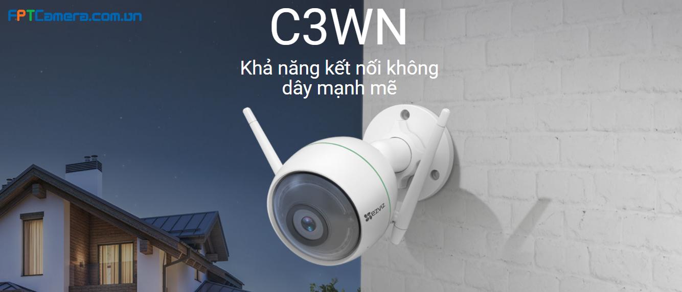 C3WN Khả năng kết nối không dây mạnh mẽ