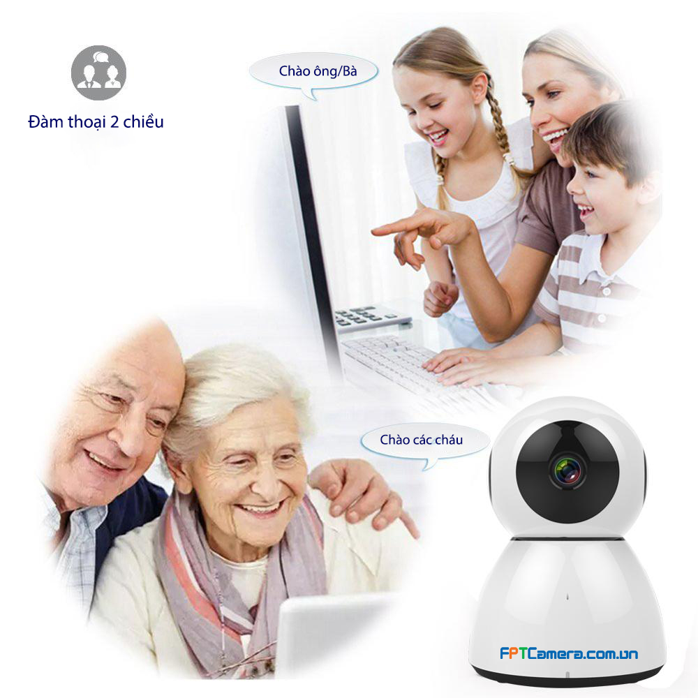 Camera Wifi không dây, một trong những tùy chọn tốt nhất để quan sát người già, người cao tuổi