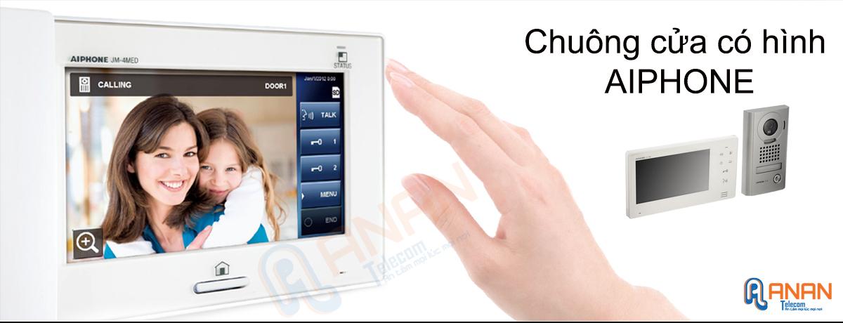 Chuông cửa có hình AIPHONE thương hiệu Nhật Bản uy tín chất lượng