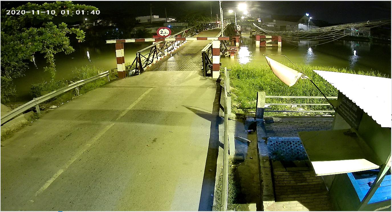 Hình ảnh thực tế thu được từ Camera Dahua có màu ban đêm