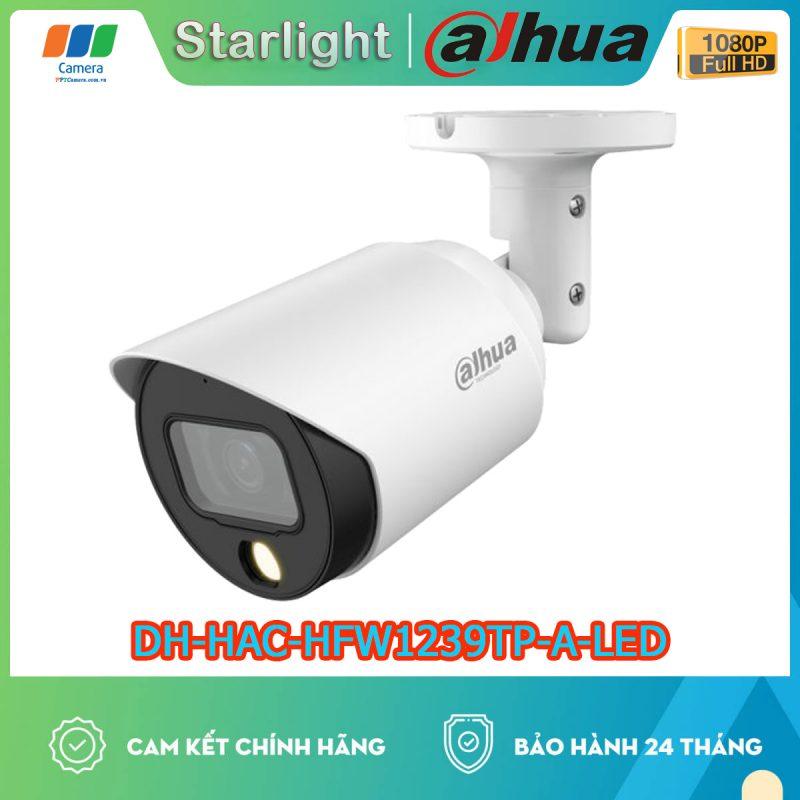 Camera Ngoài trời Dahua có màu ban đêm tích hợp Míc thu âm thanh. Full HD, hồng ngoại 30m siêu NÉT